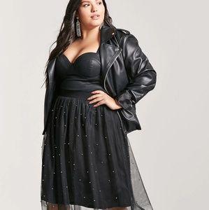 Forever 21 Plus tulle skirt